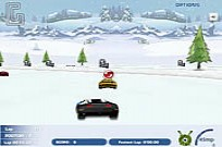Play 3D Snow Race game