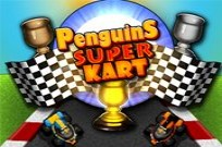 Play Penguins Super Kart game