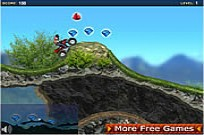 Play New Dimension Mountain ATV game