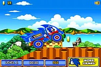 Play Sonic The Hedgehog Xtreme Truck game