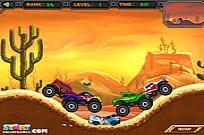 Play Crazy Monster Truck game
