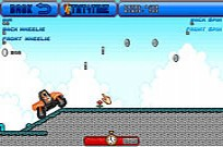 Play Orange Motorbike Racing game
