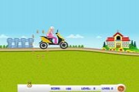 Play Barbie School Rush game