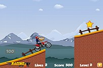 Play DownHill Stunts game