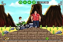 Ben 10 Bike Mission Game
