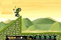 Play Ben 10 Stunt Mania game
