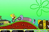 SpongeBob Drive Game