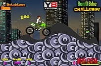 Play Ben 10 Bike Challenge game