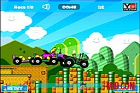 Mario Tractor Multiplayer Game