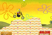 Play SpongeBob Bike game