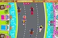 Play Anita's Cycle Racing game