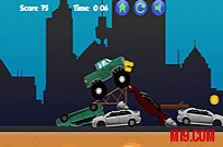 Play Monster Truck Obstacle Course game