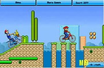 Play Toon BMX Race game