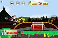 Play Popeye Rides Bike game