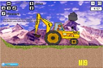 Play Baldheaded Strong Drive Excavator game