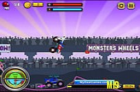 Play Monsters Wheels Game game