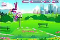 Play Barbie Bike Stylin' Ride game