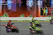Lecture Power Rangers - Moto Race jeu