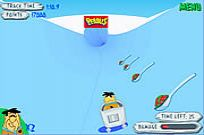 Play Flinstones Bobsleigh game