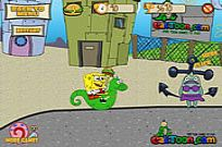 Play Spongebob Burger Express game