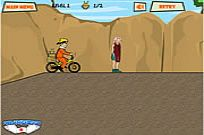 Play Naruto Bike game