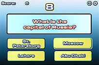 Play World Capitals Quiz game