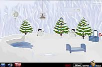 Play Snow Cave Christmas Escape game
