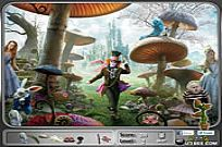 spielen Alice In Wonderland - Hidden Objects Spiel