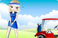 Play Golfer Girl game