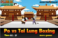 Play Po Vs Tai Lung Boxing game