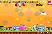 Play The Tankman SpongeBob game