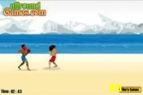 Play Beach Fighting game