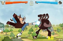 Play Regular Show Battle of the Behemoths game