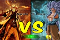 Play Goku vs Naruto game