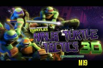 Bermain Teenage Mutant Ninja Turtles: Ninja Penyu Tactics 3D permainan