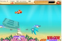 Play Nemo Finding foods game