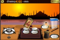 Play How to cook Turkish Coffee game