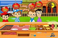 Play Turkey Burger game