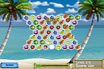 Play Tropix! Cascade game