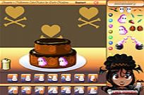 Play Shaquita Halloween Cake Maker game