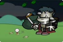 Play Gavin The Pro Golf Goblin Halloween Toure game