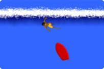 Play Sam Surfing game