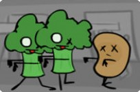 Play Attack Of The Zombic Vegie game