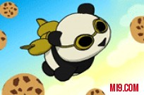 Play Rocket Panda: Flying Cookie Quest game