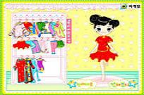 Play Cute Little Dresses game