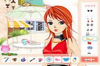 Play Afternoon Cafe Dressup game