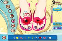 Play Pedicure Art Studio game