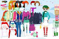 Play Winter Walking Dress Up game