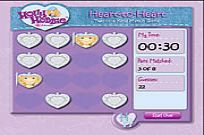 spielen Hollie Hobbie und Freunde - Heart To Heart: Two Of A Kind Match Game Spiel