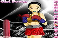 spielen Boxing Girl Dress Up Spiel